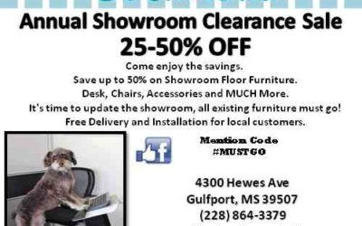 Showroom Clearance Sale